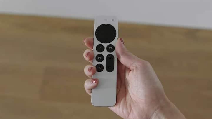 Nouvelle télécommande Apple TV 4K