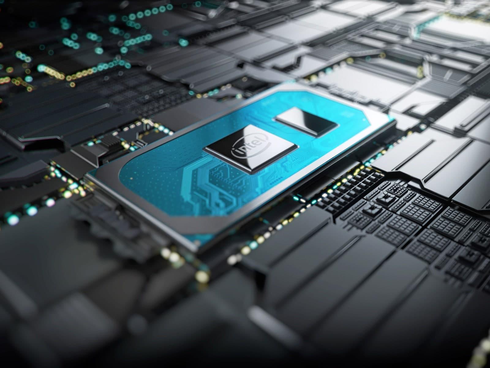 une unité centrale de traitement, ou processeur Intel i7