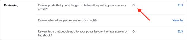 Activer la révision de la chronologie sur le Web Facebook