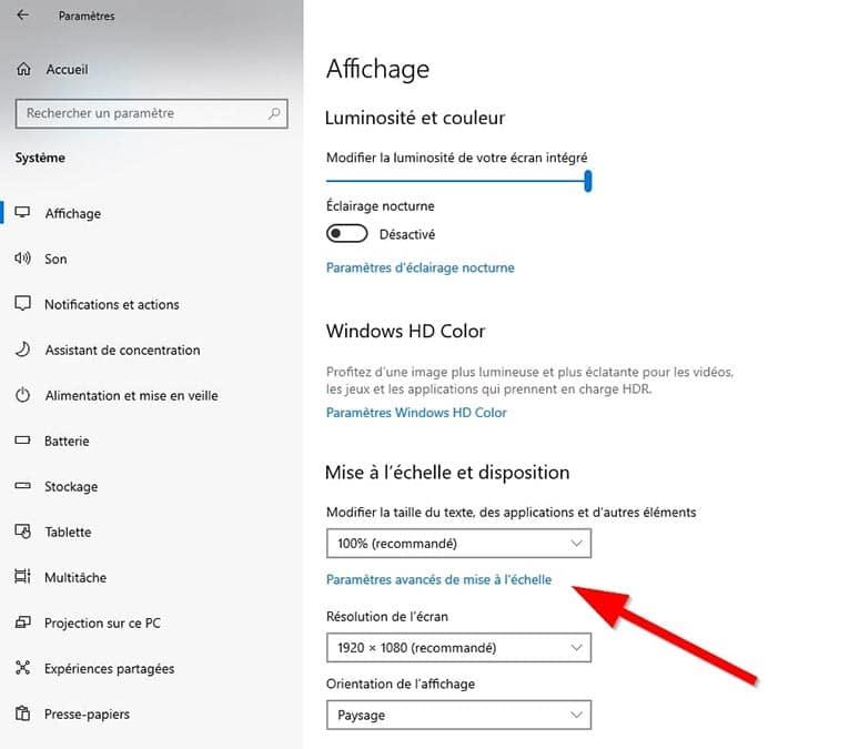 mise-echelle-personnalisee-Windows-10